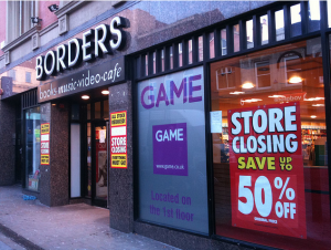 Borders Closing - Raelmifi